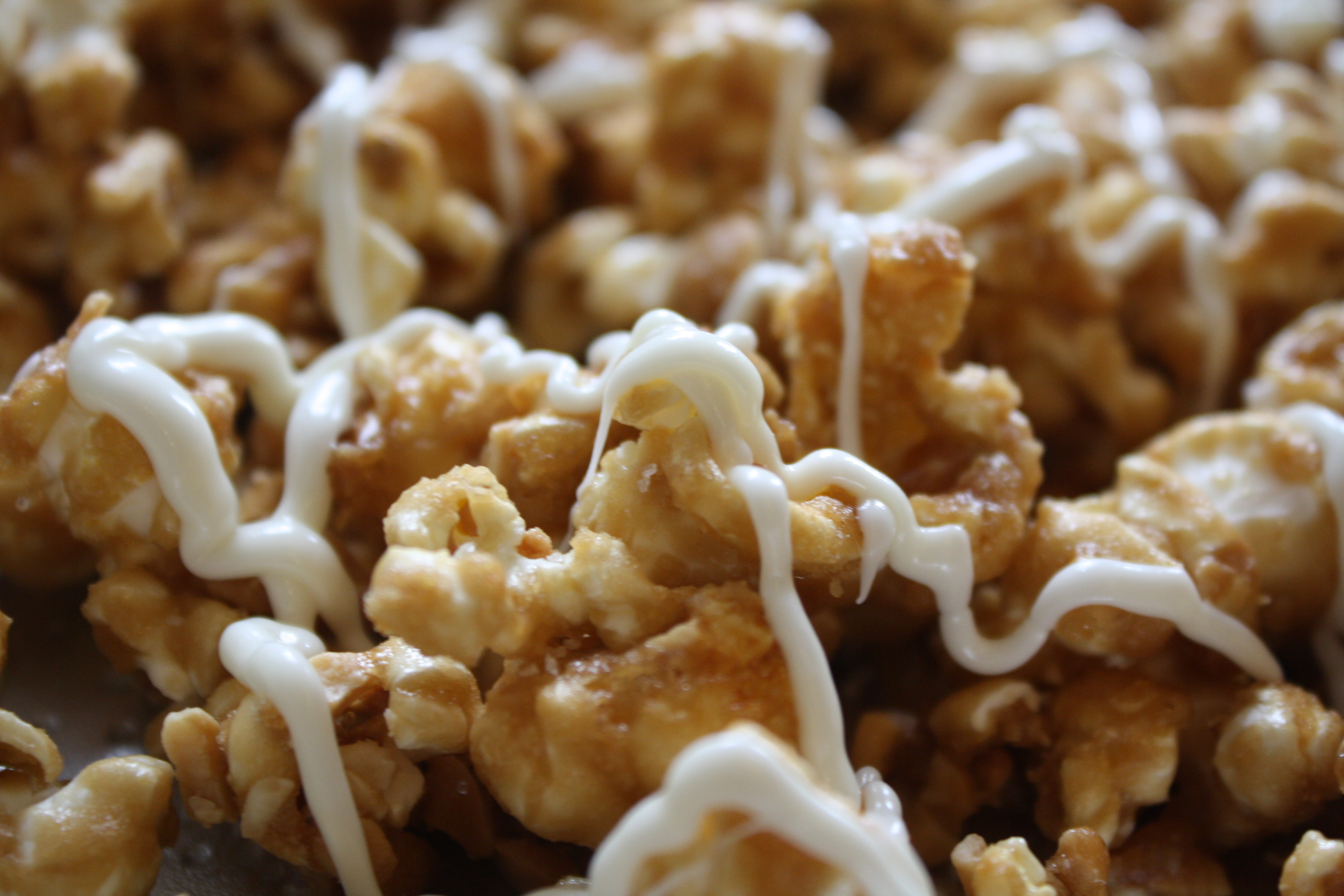 White-Chocolate Caramel Corn with Cashews | Planning for Paris