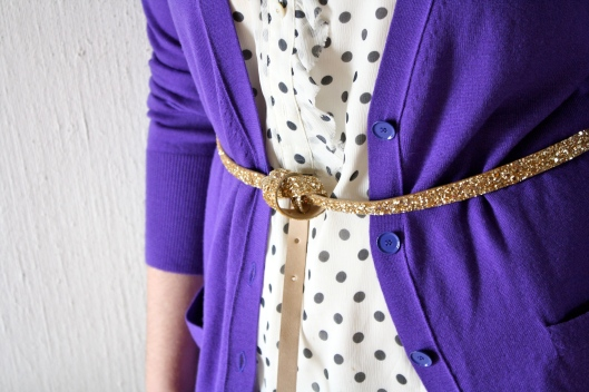 Purple Cardigan 3
