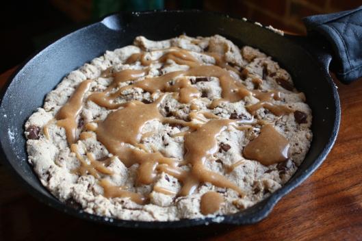 skillet cookie 2