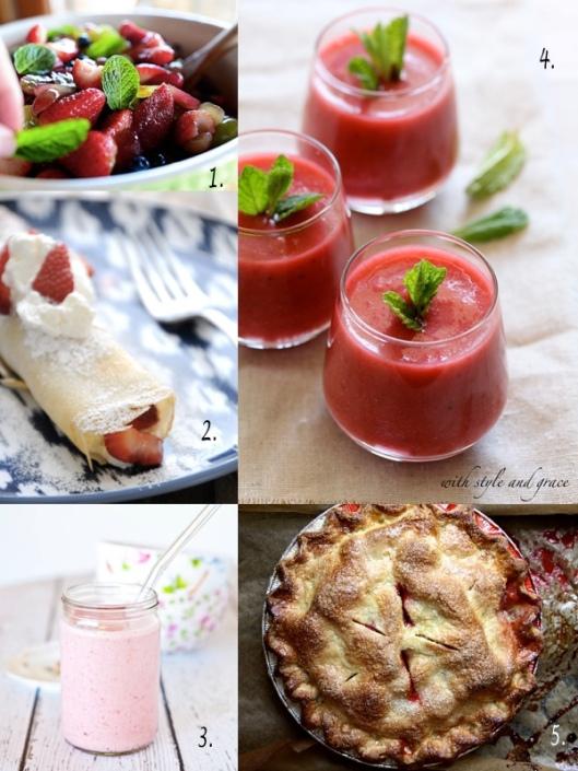 strawberry round up