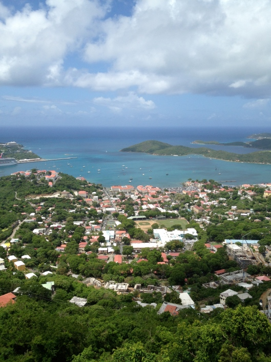 View of the Virgin Islands