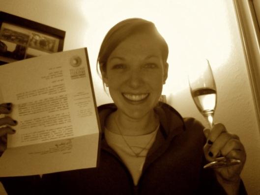 Med School acceptance letter