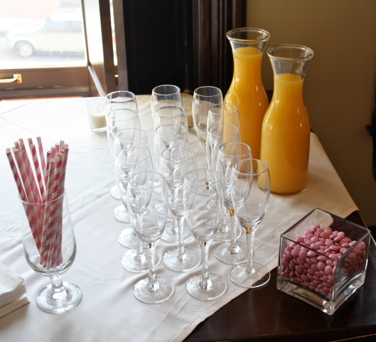 Every party must include mimosas.