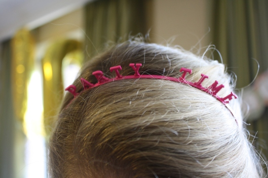 'Party Time' headband for the bride-to-be!