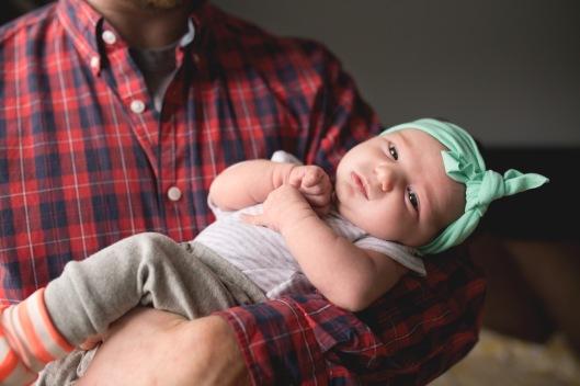 columbus ohio newborn lifestyle photography dad holding baby 5 full
